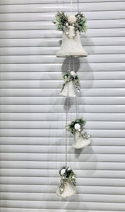Новогодний декор Колокольчики подвесные, 120 с, фото 2