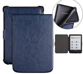 Чохол обкладинка PocketBook 627 616 632 Автосон Dark Blue темно-синій