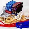 Пояс шнурок под вышиванку белый, фото 5