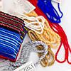 Пояс шнурок под вышиванку синий, фото 3