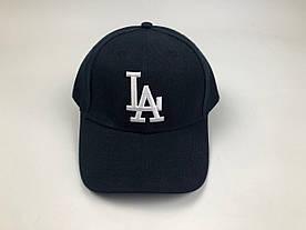Кепка Los Angeles LA MLB - Темно-синяя с белым лого