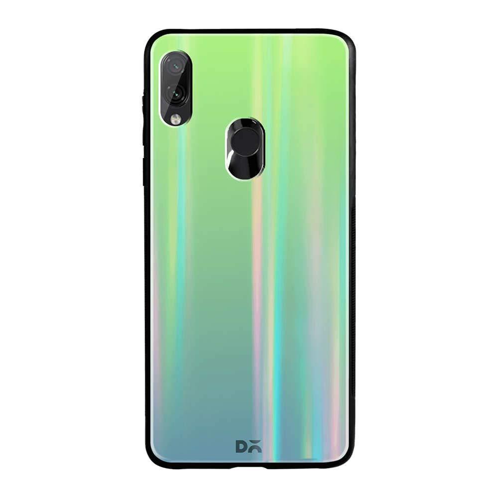TPU+Glass чехол Gradient Aurora с лого для Xiaomi Redmi 7