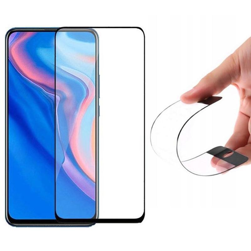Гибкое защитное стекло Nano (full glue) (без упак.) для Huawei P Smart Z / Honor 9X / 9X Pro