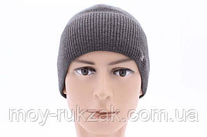 """Шапка мужская """"Скай"""" средне-серый меланж 905999, фото 2"""