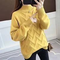 Ажурный вязанный свитер
