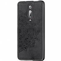 TPU+Textile чехол Mandala с 3D тиснением для Xiaomi Redmi K20 / K20 Pro / Mi9T / Mi9T Pro