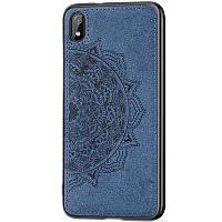 TPU+Textile чехол Mandala с 3D тиснением для Samsung Galaxy A10 (A105F)