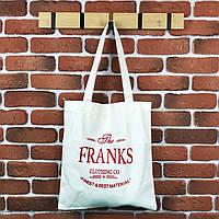 Тканевая сумка Шоппер City-A Francs Белая