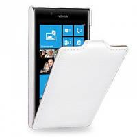 Чехол флип на Nokia Lumia 720 белый