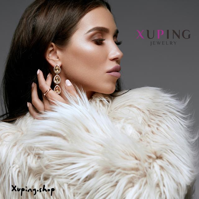 Серьги от Xuping Jewelry помогут красавицам стать еще прекраснее. Благодаря им преображается образ. Сейчас их разнообразие настолько велико, что каждая сможет подобрать для себя красивый вариант, который будет подчеркивать достоинства.