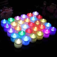 Свечи Led разноцветные
