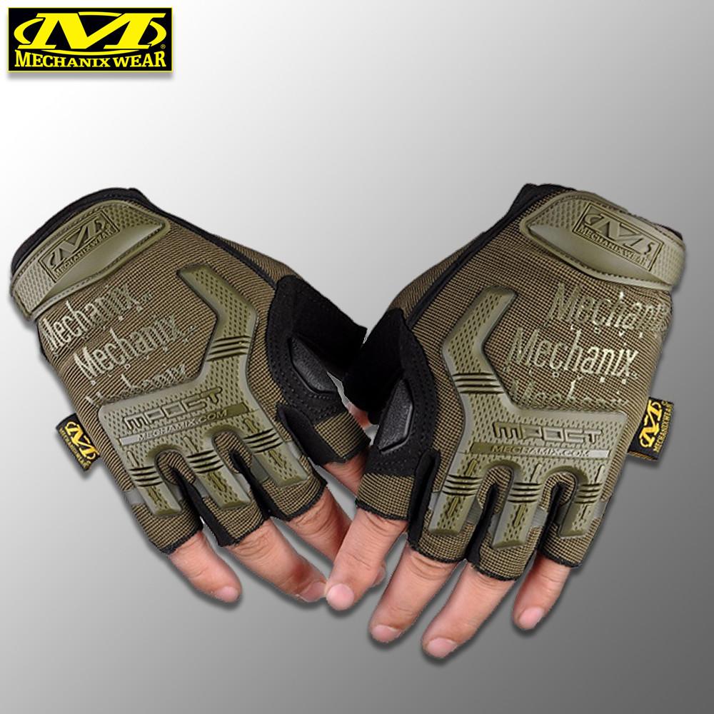 """Перчатки беспалые """"Mechanix. M-Pact"""" (олива). тактические перчатки, боевые, штурмовые"""