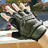"""Перчатки беспалые """"Mechanix. M-Pact"""" (олива). тактические перчатки, боевые, штурмовые, фото 2"""