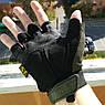 """Перчатки беспалые """"Mechanix. M-Pact"""" (олива). тактические перчатки, боевые, штурмовые, фото 3"""