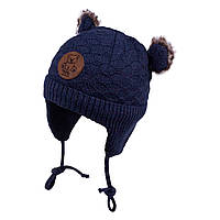 Зимняя шапка для мальчика TuTu арт. 3-004770(38-42)