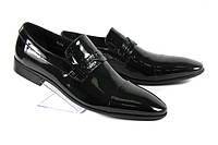 Мужские туфли VITTORIO VENTURA  23430 лак распродажа