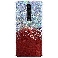 TPU чехол Galaxy Glitter для Xiaomi Redmi K20 / K20 Pro / Mi9T / Mi9T Pro