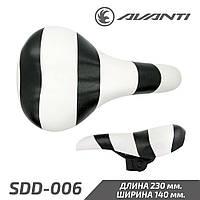 Avanti SDD-006 Седло детское Zebra черный-белый