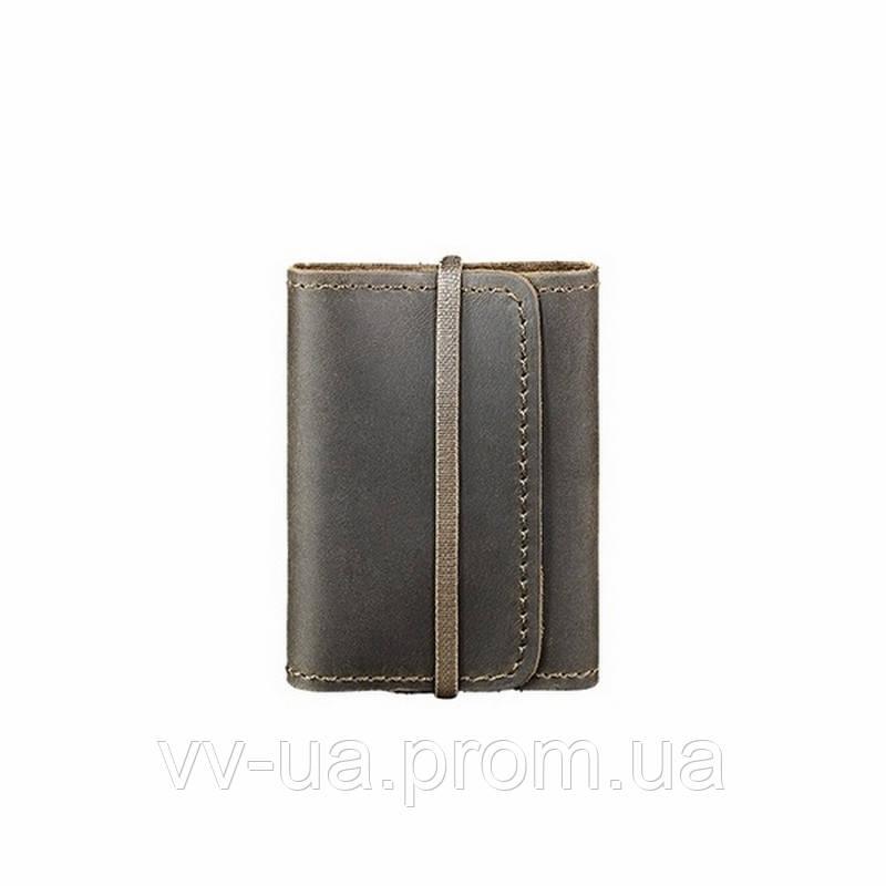 Кард-кейс BlankNote 1.1 Орех, коричневый (BN-KK-1-1-o), кожа