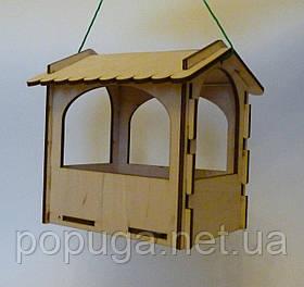 Кормушка для уличных птиц 11х16х16 см №3041
