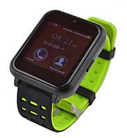 Умные часы UWatch Z2 со съемным ремешком Green