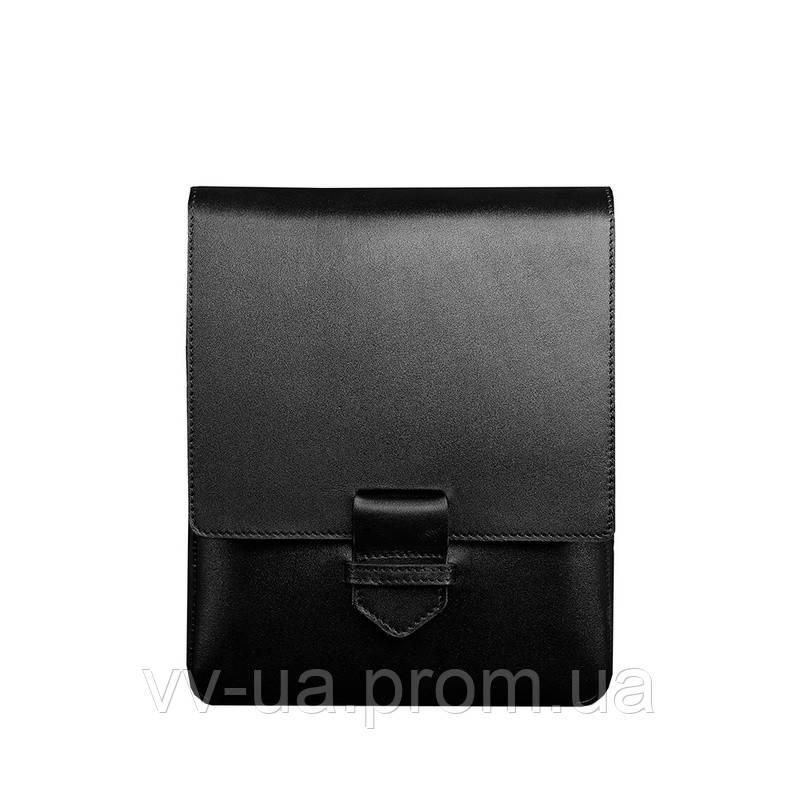Сумка-мессенджер BlankNote Esquire, графит, черная (BN-BAG-18-g), кожа