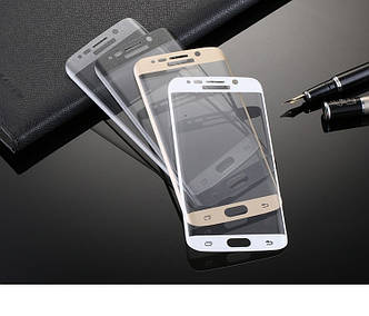 """Samsung S6 EDGE G925 Оригинальное защитное стекло 0,2 мм 2.5D 9H олеофобное покрытие  """"360 EDGE GLASS"""""""