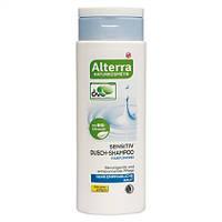 Alterra Sensitiv Dusch-Shampoo Parfümfrei - Шампунь для волос и чувствительной кожи головы 250 мл