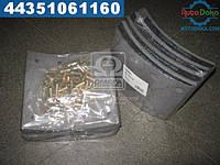 ⭐⭐⭐⭐⭐ Накладка торм. (компл. на ось) PREMIUM 420х180 1-й рем.  SAF(RIDER)  RD 19283/1PR