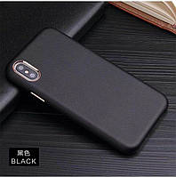 "Чехол Soft leather case для Apple iPhone X / XS (5.8"")"