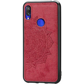 TPU+Textile чехол Mandala с 3D тиснением для Xiaomi Redmi Note 7 / Note 7 Pro / Note 7s