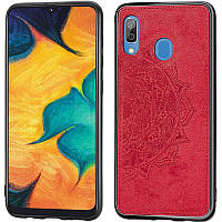 TPU+Textile чехол Mandala с 3D тиснением для Samsung Galaxy A20 / A30, фото 1