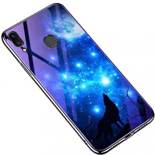 TPU+Glass чехол Fantasy с глянцевыми торцами для Samsung Galaxy A20 / A30