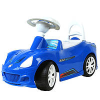 "Машинка-каталка ""Спорткар"" синяя, толокар для детей, возраст от 3 лет (160С)"