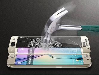 """Samsung S6 EDGE G925 Оригинальное защитное стекло 0,2 мм 2.5D 9H олеофобное покрытие  """"Samsung  S GLASS"""""""