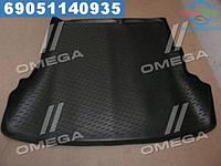 ⭐⭐⭐⭐⭐ Коврик в багажник Hyundai Solaris SD с раздельным задним сидением  борт 30 мм (пр-во Петропласт)  PPL-20726118