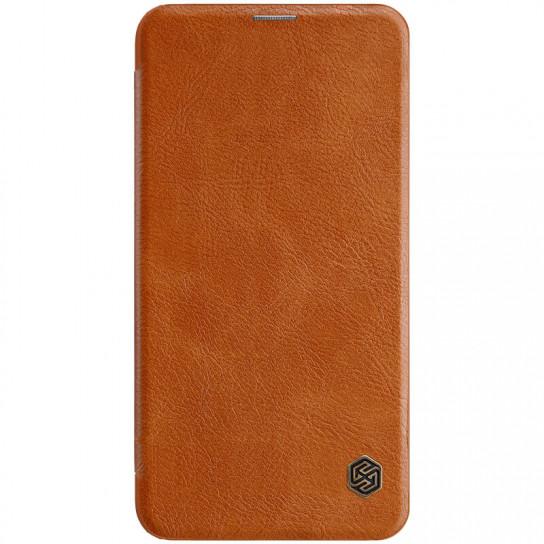 Кожаный чехол (книжка) Nillkin Qin Series для Samsung Galaxy S10e