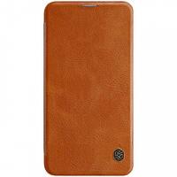 Кожаный чехол (книжка) Nillkin Qin Series для Samsung Galaxy S10e, фото 1