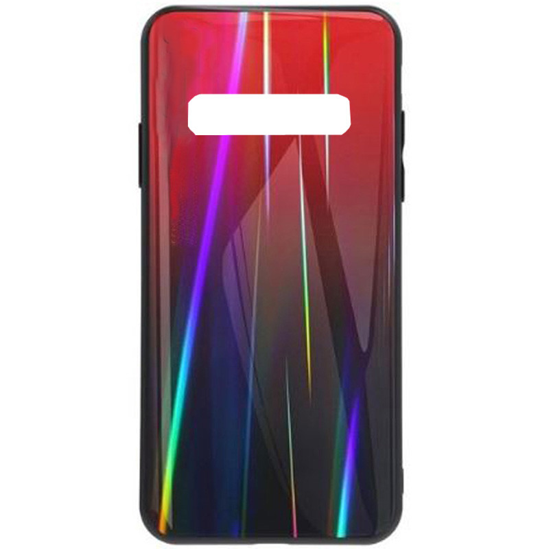 TPU+Glass чехол Gradient Aurora для Samsung Galaxy S10+