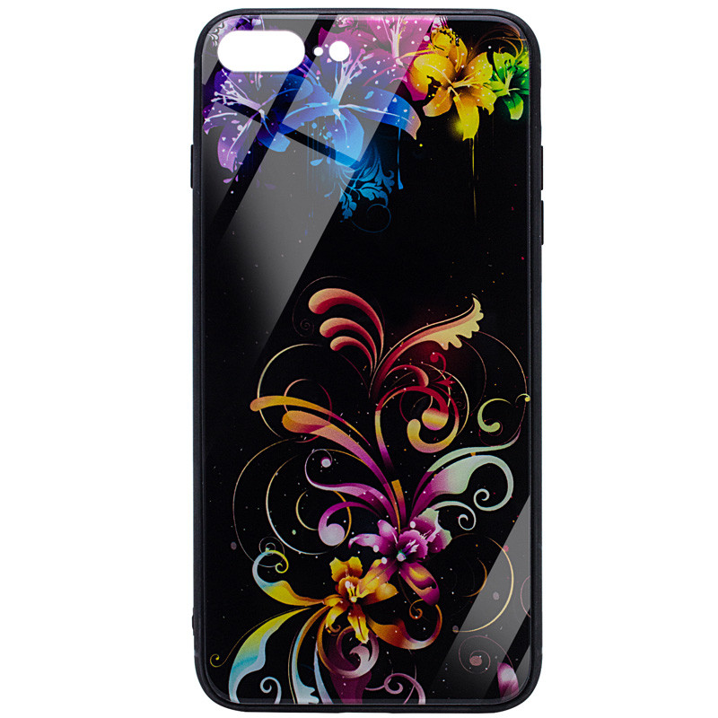 "TPU+Glass чехол Night series для Apple iPhone 7 plus / 8 plus (5.5"")"