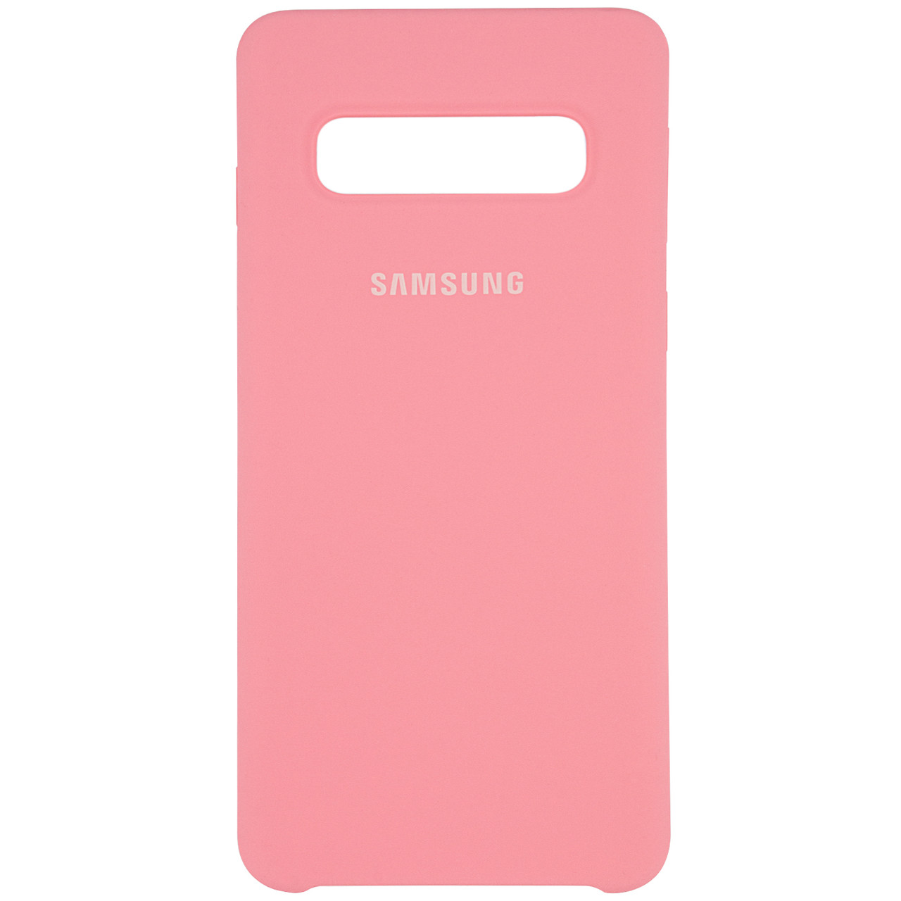 Чехол Silicone case для Samsung Galaxy S10+