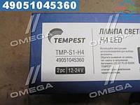 ⭐⭐⭐⭐⭐ Лампа светодиодная H4 LED <TEMPEST>  TMP-S1-H4