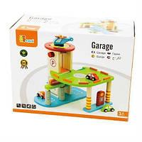"""Игровой набор Viga Toys """"Гараж"""" (59963VG)"""