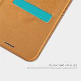 Кожаный чехол (книжка) Nillkin Qin Series для Samsung Galaxy A9 (2018), фото 2