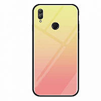 TPU+Glass чехол Gradient series для Huawei Honor Play