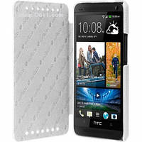 Чехол Melkco Face Cover Book Type для HTC ONE Dual (802w) white