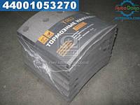 ⭐⭐⭐⭐⭐ Накладка тормоза (комплект на ось) 410x183 стандарт МAН F2000,F90,TGA, Mercedes ACTROS (производство  TRU)  1948700DP