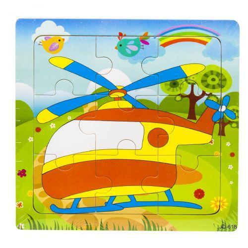 """Рамка-вкладыш """"Вертолет"""", 9 деталей C37709"""