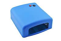 Ультрафиолетовая лампа для ногтей 36Вт UKC K818 синий