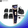 Беспроводная машинка для стрижки волос Gemei GM-6005 (s17), фото 3